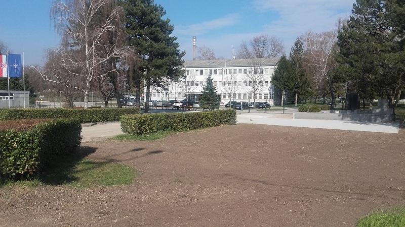 SPOMENIK VOJARNA CROATIA 25.03.2018