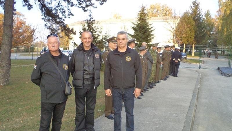 Polaganje vijenca ministra obrane za 27.obljetnicu